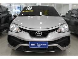 Toyota Etios 1.5 x sedan 16v flex 4p automático - 2018