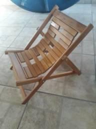 Cadeira espreguiçadeira dobrável