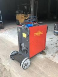 Máquina de solda Mig / Mag com cabeçote alimentador MigArc 3100 400 A