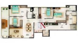 Apartamento novo com 4 quartos, 02 suíte, DCE, 125 m² por R$ 890.000 - Cabo Branco - João