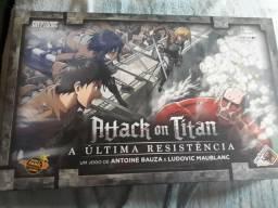 Jogo de tabuleiro Attack on Titan