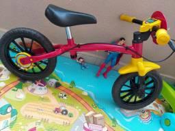 Bicicleta de equilíbrio NATHOR ARO 12 sem pedal