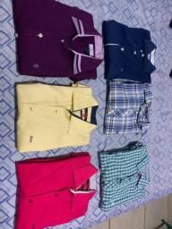 Camisas tamanho M individual e base