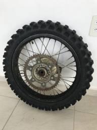 Vendo roda traseira completa crf 230