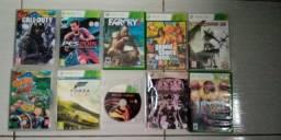 Vendo 10 jogos de Xbox 360