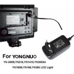 Fonte Original Bivolt para LEDs Godox Yongnuo YN300 YN216 YN 1410 YN168 YN360