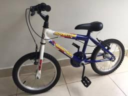 Bicicleta aro 16 infantil com rodinha