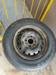 Vendo rodas 13 palio com algumas carcaças