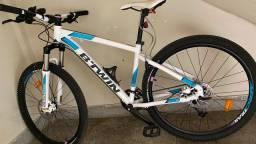 Bicicleta MTB rockrider 540 aro 27,5 branca /rosa mod.feminino