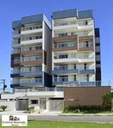 Apto com 3 dormitórios frente para o mar/solarium/piscina/Aruan-Caraguatatuba