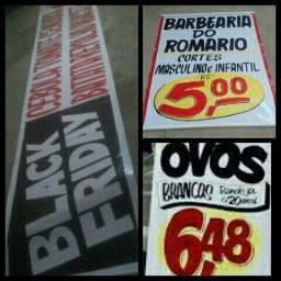 Faixas e Banners *)