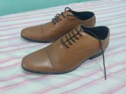 Sapato social tng caramelo n43