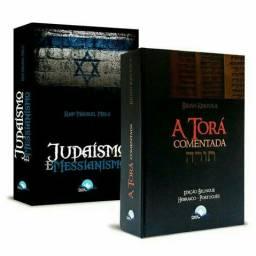 Combo 2 Livros - Torá Judaísmo e Messianismo<br><br>Torá Comentada + Judaísmo e Messianismo<br><br>