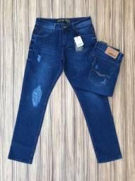 Calça jeans diversas marcas e tamanhos