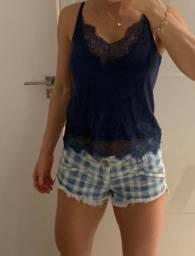 Camiseta seda
