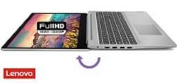"""Notebook Ideapad 330 Intel Core i3 4GB 1TB W10 HD 15.6"""" Prata"""