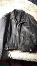 Jaqueta de Couro Tam G