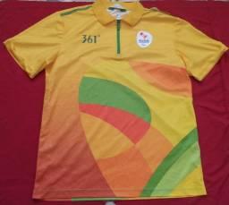 Camisa voluntário da olimpíada do Rio 2016