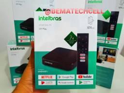 TV Box Android INTELBRAS (OFICIAL) Controle com comando de voz  ORIGINAL ANATEL