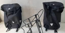 Alforje e bagageiro dianteiro comprar usado  Porto Alegre