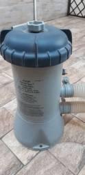 Filtro de piscina inflável 220 volts<br>Aceito Cartão de crédito