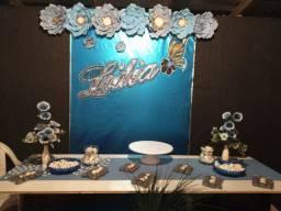 Flor de papel, displey nome em camadas Apartir de 30 reais