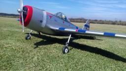 Aeromodelo P-47 Thunderbolt 22 Cc Gasolina Phoenix