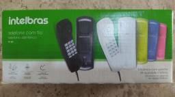 Telefone Intelbras com fio