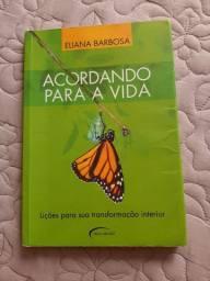 """Livro """"Acordando para a vida """" de Eliana Barbosa"""