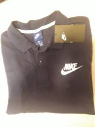 Camisa Polo Original Nike - Cor Azul Marinho - Tamanho XL