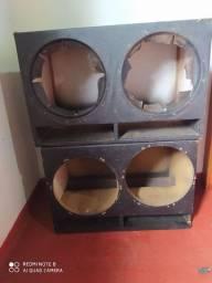 Caixa de som e driver de corneta