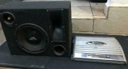 Caixa + amplificador