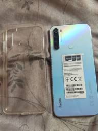 Xiaomi redmi note 8 menos de 1 mês de uso