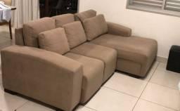 Sofá 3 lugares com chaise (2,50m)