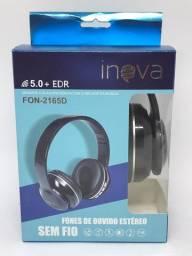 Headphone Bluetooth Inova Com Leitor Cartão. Entrega Grátis Fortaleza
