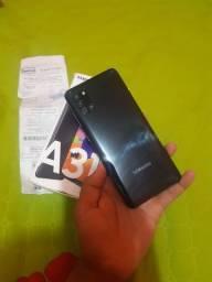 Samsung A31 novo na caixa e nota fiscal