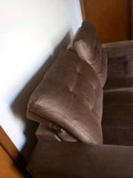 Sofá retrátil e reclinável. 2,00m. Magnífico. Santa Cruz do Sul