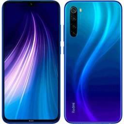 Smartphone Redmi Note 8 Azul 4GB 64GB Novo Lacrado
