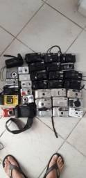 Lote de câmera antiga