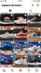 Tênis Nike, Adidas, New Balance, Vans e All Star / Chinelos Nike Air