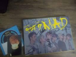 Got7 album MAD autografado