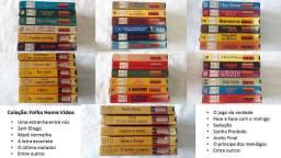 Coleções Caras, Folha home vídeo em VHS