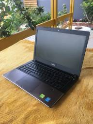 Notebook Dell i5-5200u, 4gb RAM,SSD 120