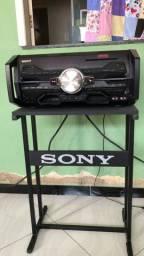 Jogo dê rack para som Sony