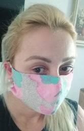 Máscaras tecido duplo