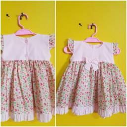 Vestidos de bebê lindos usado 1 vez só