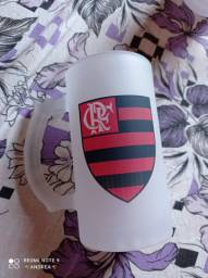 Caneca de chopp do Flamengo