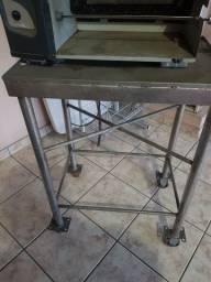 mesa aço inox