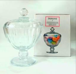 Linda Bomboniere Cristal Importada - Turca
