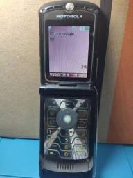 Motorola V3 Black Basico de Flip Tim